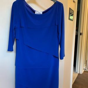 Royal Blue Cocktail Party Dress